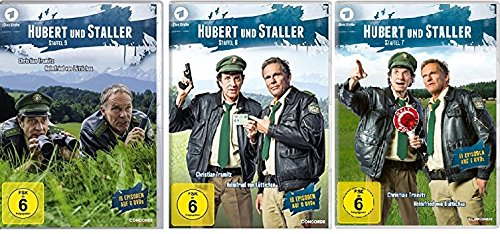 Staffel 5-7 (18 DVDs)