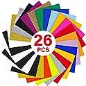 26-Pack Yrym Ht 12 x 10 Inch Sheets Heat Transfer Vinyl Bundle