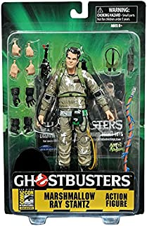DIAMOND SELECT TOYS SDCC 2016 Exclusive TRU Ghostbusters Ray Stanz Marshmallow Covered Diamond Select Figure