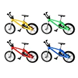 Toyvian Miniature Finger Mountain Bike Model Toy 1:18 Mini Alliage Creative Vélo...