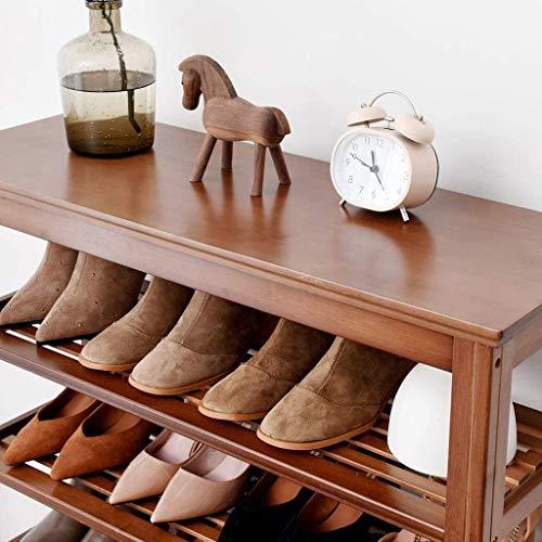 DHFDHD Zapatero Organizador de Seis Pisos Simple Zapatero Pasillo de Entrada de la Sala Zapatero Ahorra Espacio y es fácil de Montar Zapato del Organizador del almacenaje Ideal para Recibidor, Sala