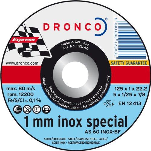 Trennscheibe AS 60T Inox-BF, 125