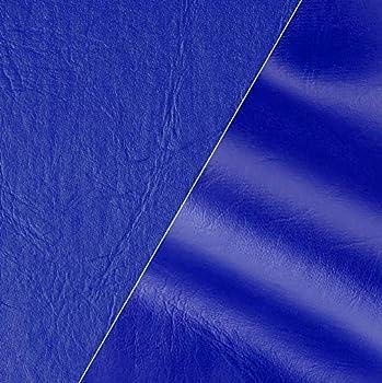 VViViD Blue Weatherproof Faux Leather Finish Marine Vinyl Fabric  1.5ft x 54