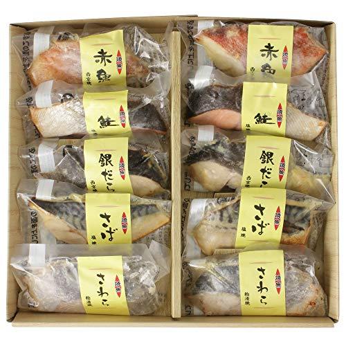 丸市食品 焼き魚セット 西京焼き [冷凍食品] 新鮮 厳選素材 食べ比べセット おかず ギフト