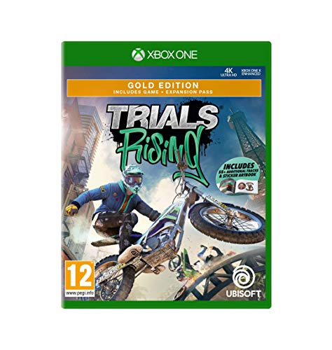 Trials Rising - Gold Edition (Includes 55+ Additional Tracks & Sticker Artbook) Xbox1- Xbox One