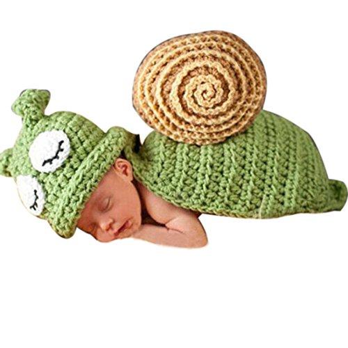 Amison Cute foto Prop Costume vestiti, ragazza neonato uncinetto maglia fotografia