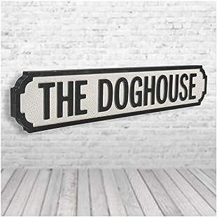 Customer reviews Dog House Vintage Road Sign / Street Sign:Isfreetorrent
