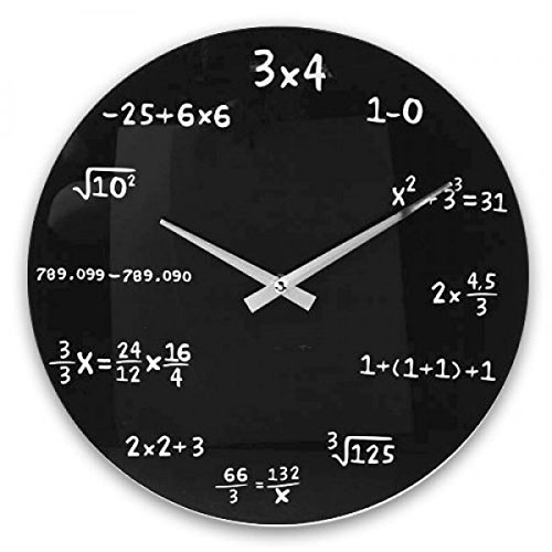 Mathematik Wanduhr