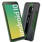 Móvil Resistente Outdoor 4G, Blackview BV6300 Pro Android 10 Telefono Movil Antigolpes, Helio P70 Octa-Cor 6GB+128GB, 5.7'' 11,6 mm Ultrafino, 16MP+13MP con Smart HDR, Dual SIM/GPS/NFC/Face ID