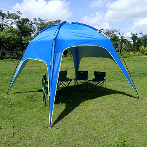 Newgreeny Outdoor Rain-proof Shade 3-4 People 5-8 People Automatic Double-layer Rain-proof Camping Camping conventional 3-4 people 210X180X125CM tent