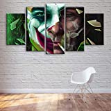 VKEXVDR Impresión de Lienzo de Pared Arte Imagen,Personaje de película de superhéroe Pintura RomáNtica De Arte para Sala De Estar Dormitorio,200x100cm