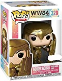 Funko Pop Movie Wonder Woman 1984 Diana Golden Armor Shield Collectible Toy Boy's Toy...