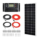 RICH SOLAR: 100W Monocrystalline Solar Kit
