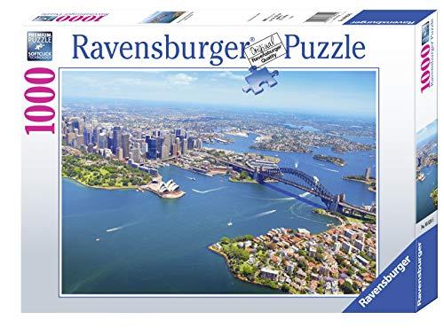 Ravensburger, Puzzle 1000 Pezzi, Opera House e Harbour Bridge - Sydney, Australia, Puzzle per Adulti, Linea Foto & Paesaggi, Relax, Stampa di Alta Qualità, Dimensioni 70x50 cm