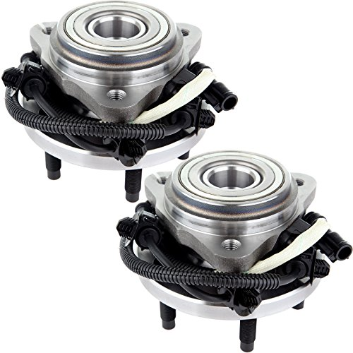 ECCPP Pair Set Of 2 New Front Wheel Hub Bearing Assembly for a Ford Mazda Mercury 4WD 4X4 (1999 Ford Explorer 4x4 Front Wheel Bearing Replacement)
