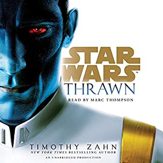 Thrawn (Star Wars)                   By:                                                                                                                                 Timothy Zahn                               Narrated by:                                                                                                                                 Marc Thompson                      Length: 16 hrs and 56 mins     312 ratings     Overall 4.8