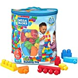Product Image of the Mega Bloks First Builders Big Building Bag with Big Building Blocks, Building...
