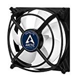 ARCTIC F9 Pro TC - 92 mm Case Fan, Very Quiet Motor, Computer, Anti-Vibration-System, Fan Speed: 500-1800 RPM - Black/White