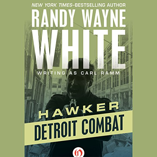Detroit Combat audiobook cover art