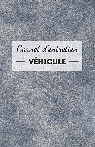 Carnet d'entretien véhicule: universel, simple et pratique - fiche à compléter pour chaque intervention - accessoire voiture moto scooter