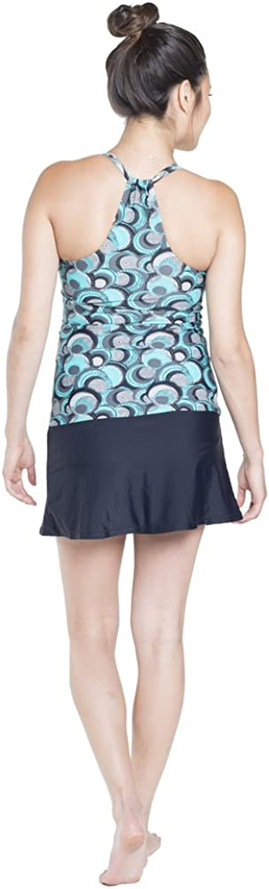 Oceanlily Halter Maternity Swimwear Top-Pregnancy Swimsuits-Bathing Suit-Maternity Tankini Top