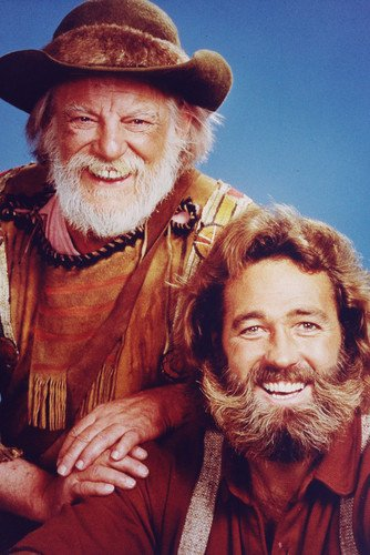 The Life and Times Of Grizzly Adams Dan Haggerty Denver Pyle 24x36 Poster