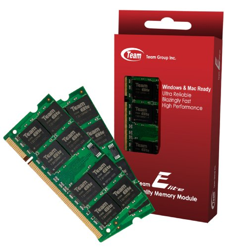 """2GB (1GBx2) Team High Performance Memory RAM Upgrade For Mac mini """"Core 2 Duo"""" 2.0 MB139LL/A Macmini 2,1 1. The Memory Kit comes with Life Time Warranty."""
