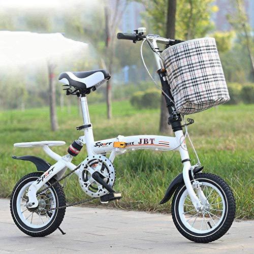 WYZXR Freestyle Kids 'Bikes Fahrrad 16-Zoll Free Press Folding Single-Speed-Fahrrad Student Kinderfahrrad