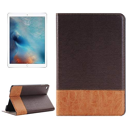 Xyamzhnn Leather Case Cross & Sheepskin Texture Horizontal Flip Leather Cover Shell With Holder & Card Slots & Wallet For IPad Pro 12.9 Inch (Color : Brown)