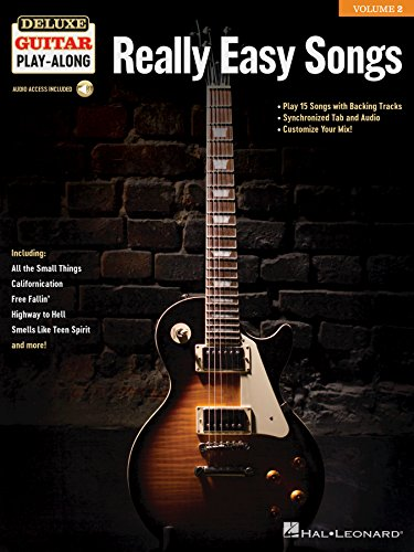 Really Easy Songs: Deluxe Guitar Play-Along Volume 2 (English ...