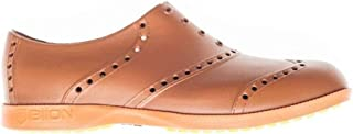 Biion Oxford Bright Unisex Golf Shoes - Brown/Bright Orange - Men's