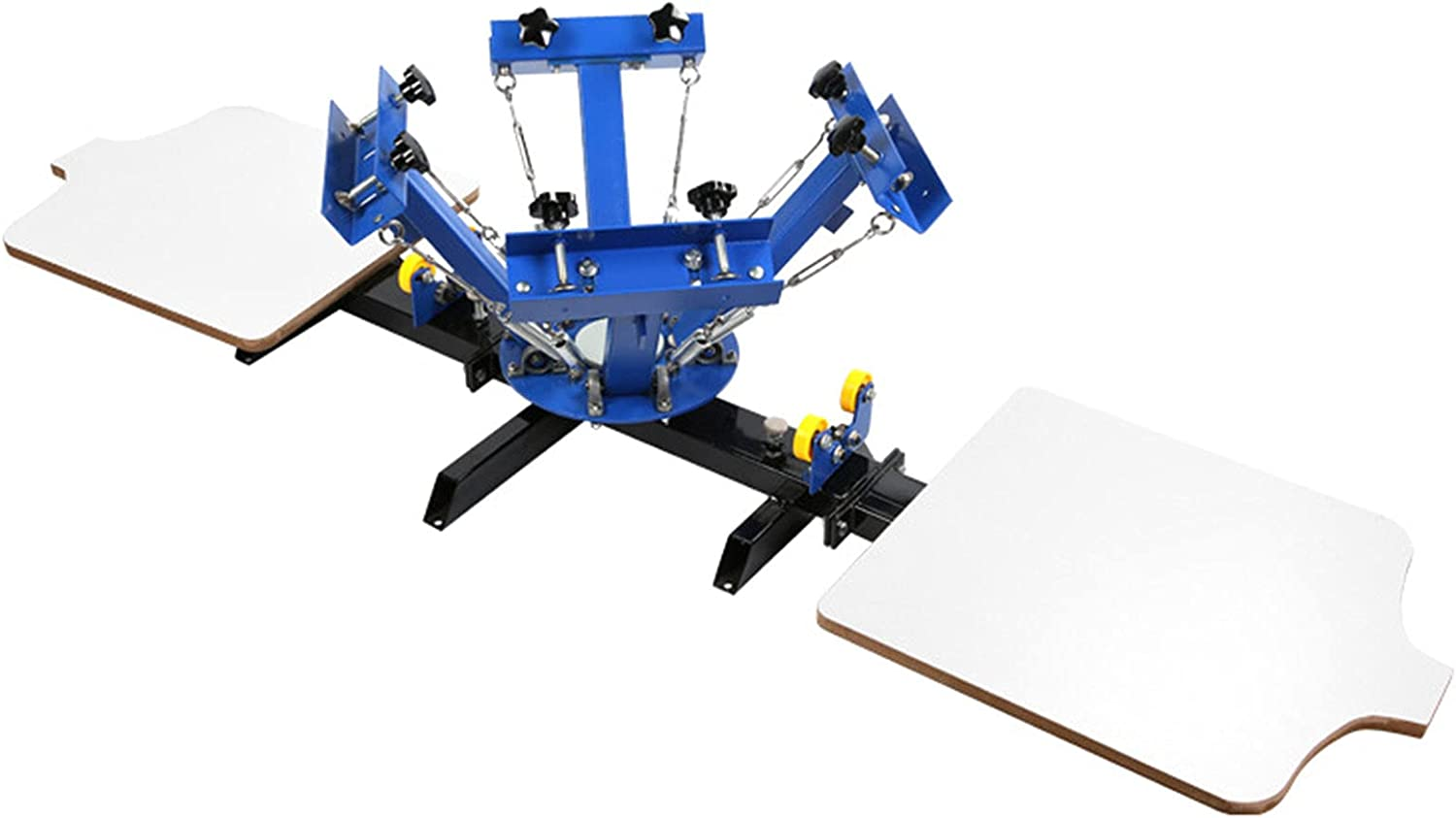 Washington Mall JFF Screen Printing 4 Color 2 Station Machine New product type T-