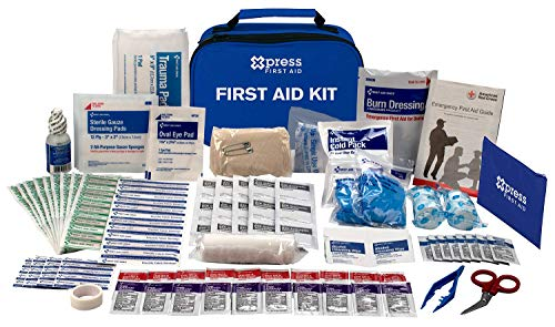 Review Of Xpress First Aid 137 Piece First Aid Kit, ANSI/OSHA Compliant