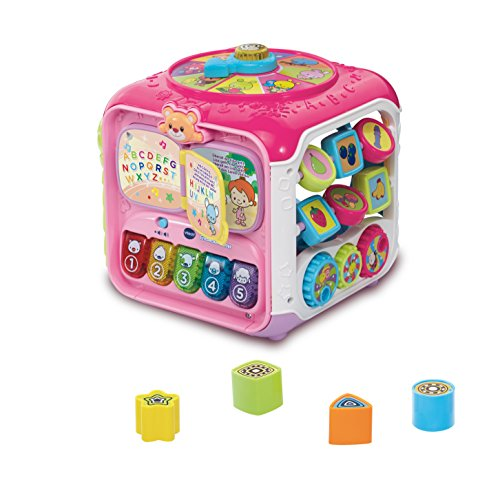 Vtech Baby 80-183454 - Entdeckerwürfel, Kleinkindspielzeug, rosa