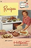 Recipes for your Hotpoint Electric Range