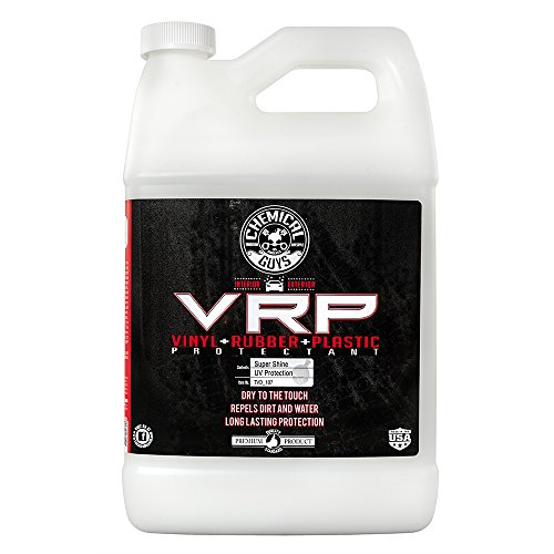 Chemical Guys TVD_107 V.R.P. Vinyl, Rubber and Plastic Non-Greasy Dry-to-the-Touch Long Lasting Super Shine Dressing for Tires, Trim and More, 1 Gal