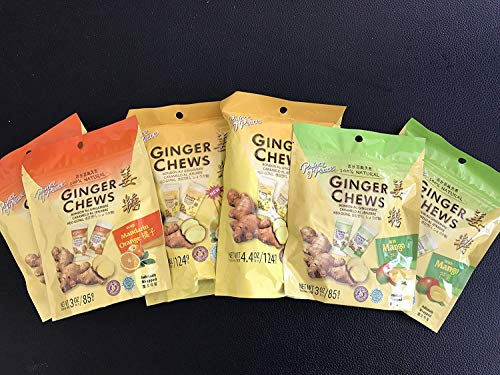 Prince of Peace Ginger Candy Variety (6 Pack)