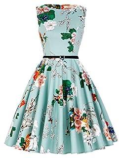 scheda grace karin donne vestiti estivi vintage linea ad a casual cocktail vestito cotone it6086 (x-small, floral-33)