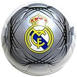 レアル・マドリード(REAL MADRID)4号合皮サッカーボール≪カラー/シルバーホワイト≫