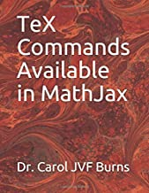 TeX Commands Available in MathJax