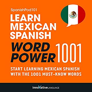 Learn Mexican Spanish - Word Power 1001 cover art