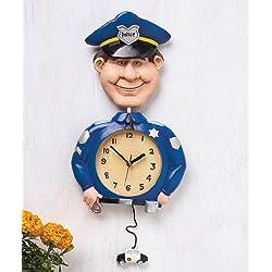LTD Occupational Policeman Wall Clock Great Gift !