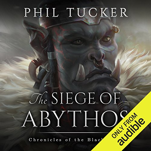The Siege of Abythos audiobook cover art