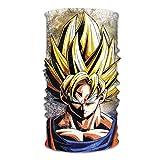 Gjkuyt412 Goku Dragonballz Anime Bandana Diadema, Correr Cara Bufanda Tubo, Mujeres Hombres Cuello Polaina Para Yoga Fitness Senderismo Esquí Entrenamiento Ciclismo Al Aire Libre