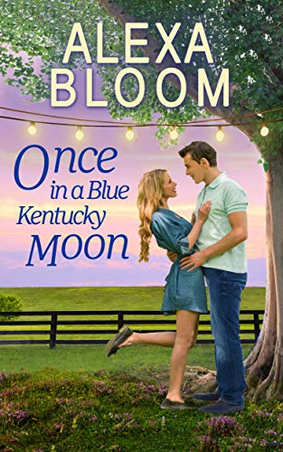 Once In A Blue Kentucky Moon: A Sweet Small Town Romance (The Harrisons Book 1) (English Edition)