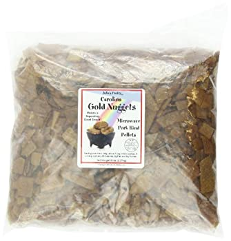 Carolina Gold Nuggets Microwave Pork Puffies Pork Rinds Original 5 Lb