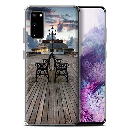 Stuff4 telefoonhoesje/Cover/Skin/SG-GC/Engelse collectie aan zee Samsung Galaxy S20 Paviljoen-theater