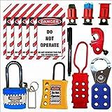 safety house loto Lockout Tagout Loto Kit -35 in 1 Set