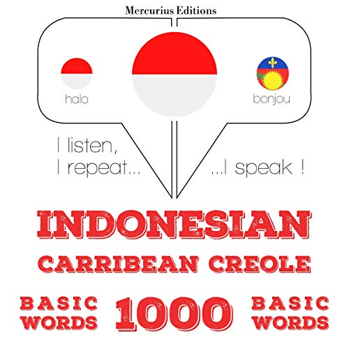 Indonesian – Carribean Creole. 1000 basic words cover art