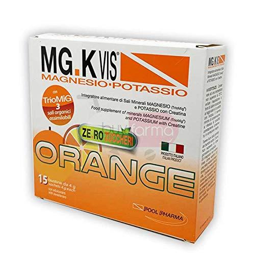 Pool Pharma Srl Mgk Vis Orange Zero Zuccheri 15 Bustine - 60 Gr